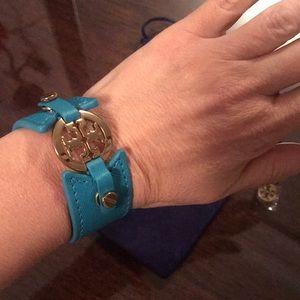 Brand new Tory Burch leather bracelet